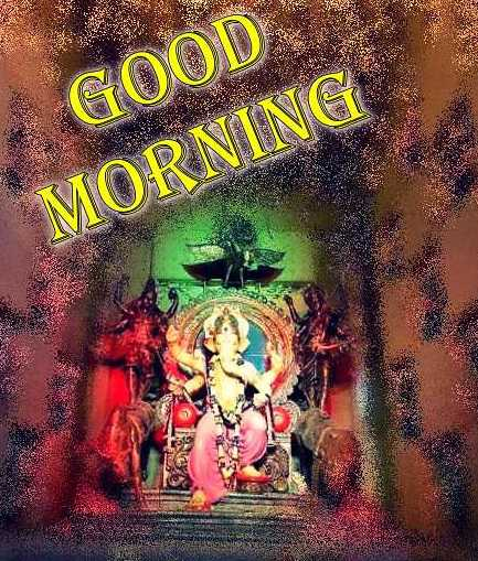 GOOD MORNING LORD GANESH