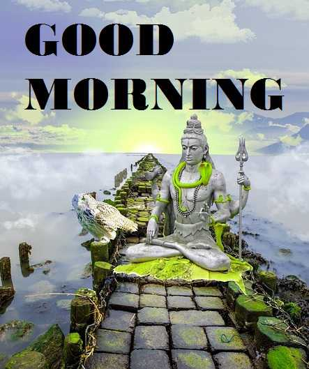 LORD SHIVA GOOD MORNING IMAGES