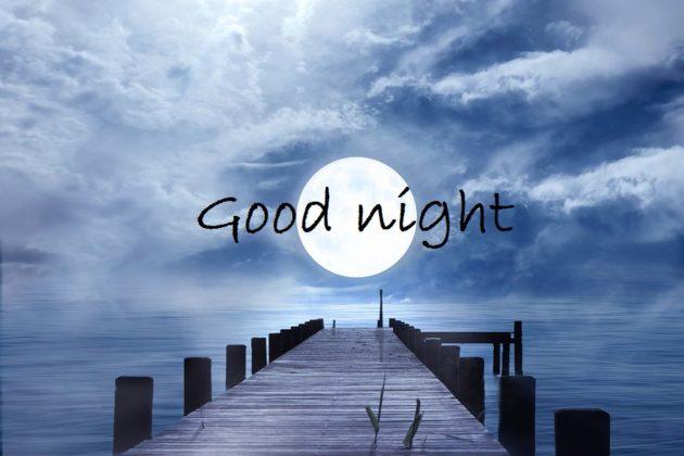 full moon good night images