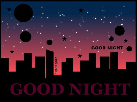 good night city images