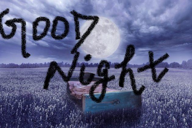 good night beautiful moon images