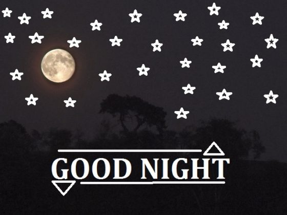 good night stars images