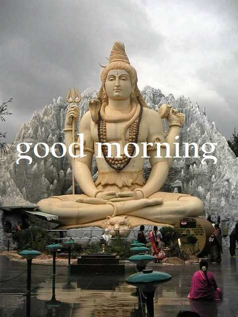 GOOD MORNING SHIVJI IMAGES